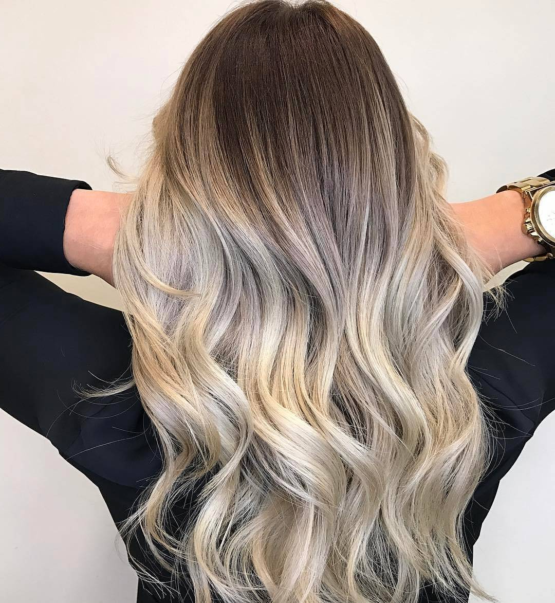 Balayage Hair: 15 Beautiful Highlights For Blonde, Red Or Inside Pixie Hairstyles With Red And Blonde Balayage (View 18 of 20)