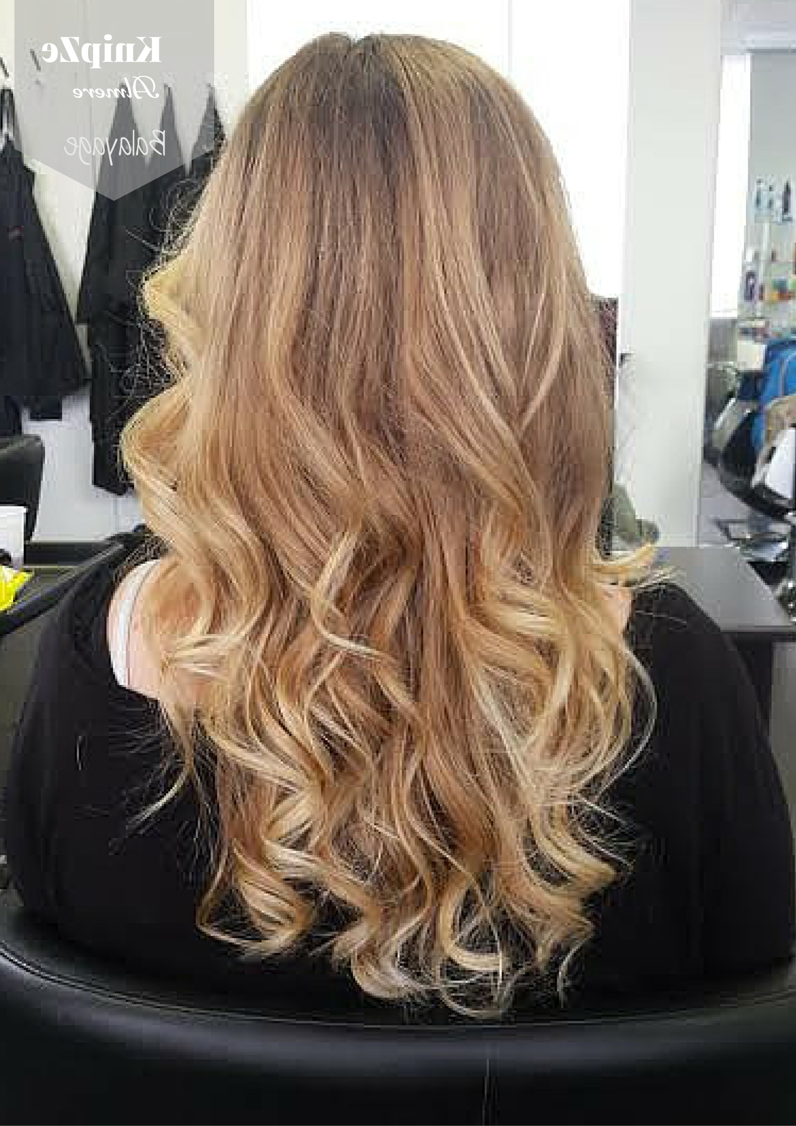 Balayage Kleuring. Sun Kissed Look Www.knipze Almere (View 2 of 20)