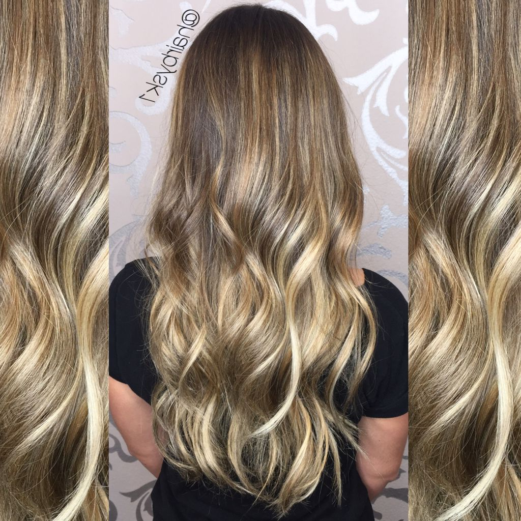 Balayage Ombré, Beige Tones, Sandy Blonde, Ombré, Balayage Inside Beachy Waves Hairstyles With Balayage Ombre (View 11 of 20)