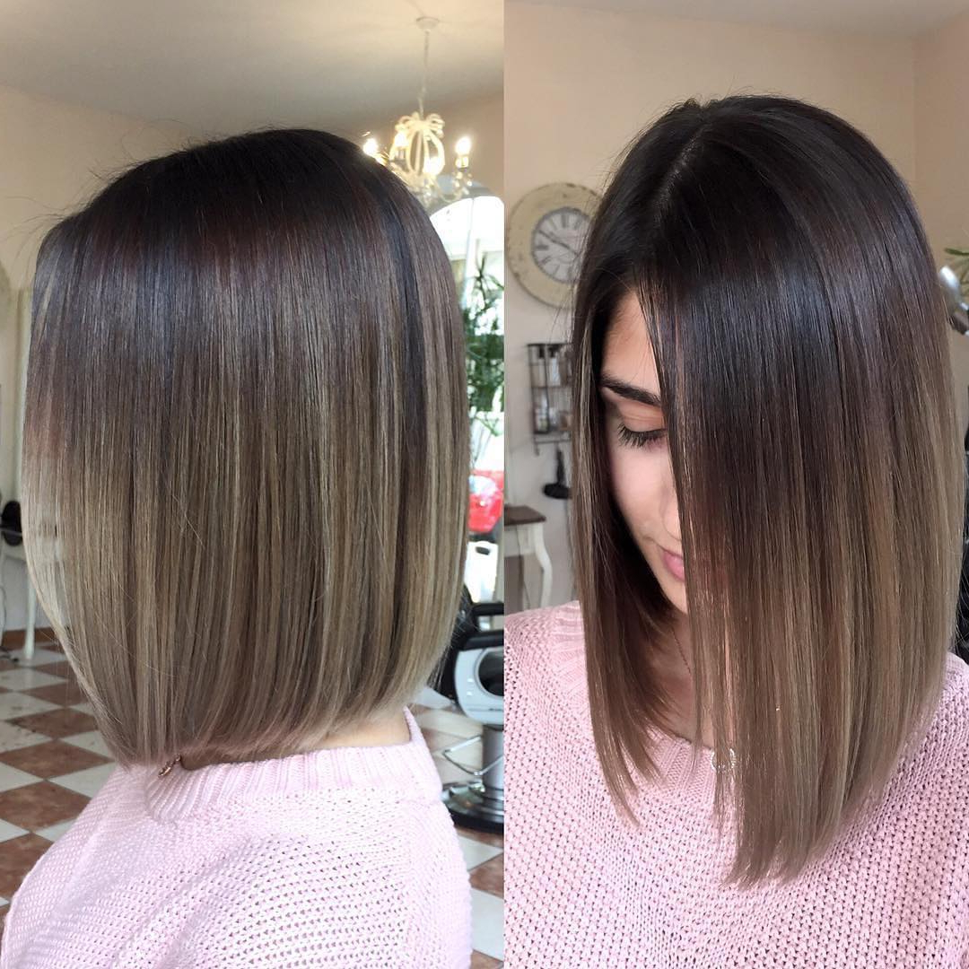 Balayage Ombre Hair Styles For Shoulder Length Hair Intended For Short Bob Hairstyles With Balayage Ombre (View 12 of 20)