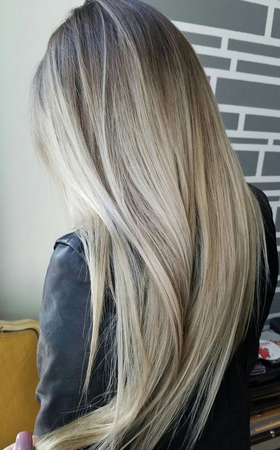 Balayage Straight Hair | Straight Hair Balayage Hairstyles Inside Blonde Balayage Hairstyles On Short Hair (View 2 of 20)