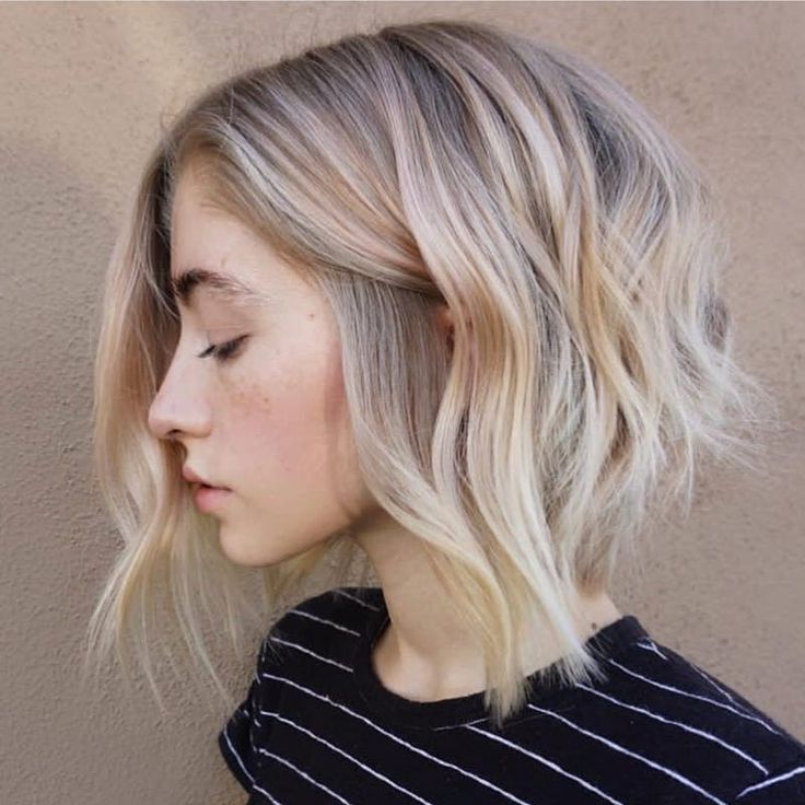 Best 25+ Cool Blonde Tone Ideas On Pinterest   Cool Toned Pertaining To Cool Toned Angled Bob Hairstyles (View 11 of 20)
