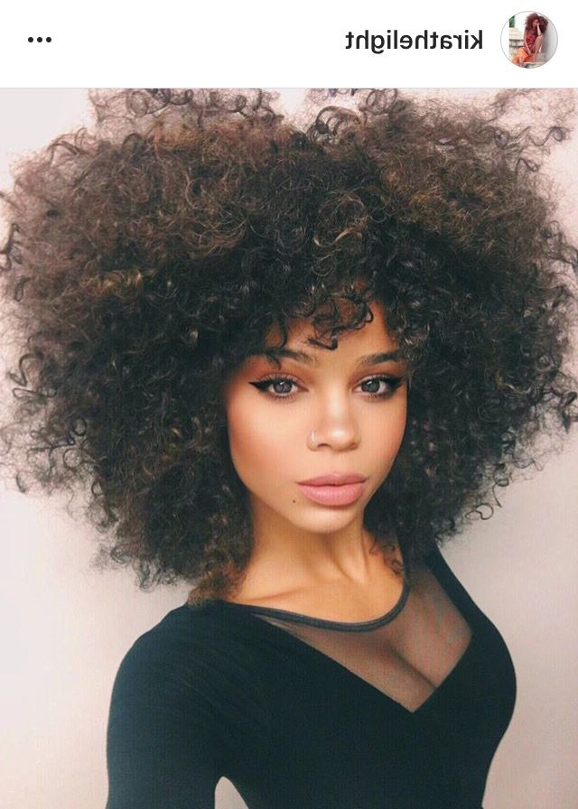 Best And Newest Big, Natural Curls Hairstyles With Regard To Pin On Curly Hair (View 12 of 20)