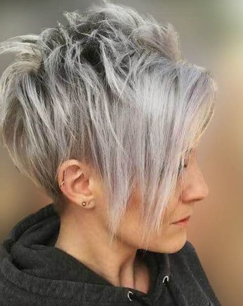 Best Pixie Cut Hairstyles And Pixie Haircuts For Women In Throughout Long Pixie Hairstyles With Dramatic Blonde Balayage (View 18 of 20)