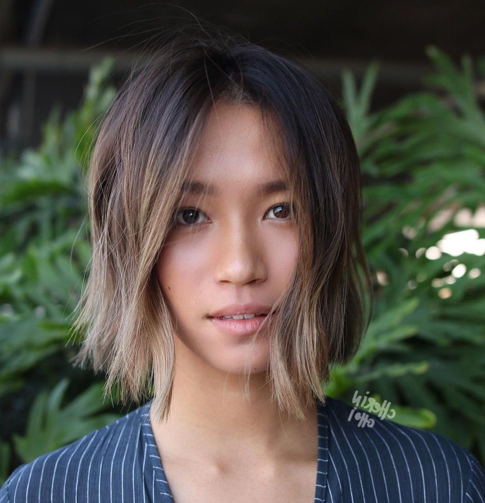 Best Straight Hair Cuts: The Most Popular Pinterest Throughout Most Popular Middle Part Hairstyles (View 16 of 20)