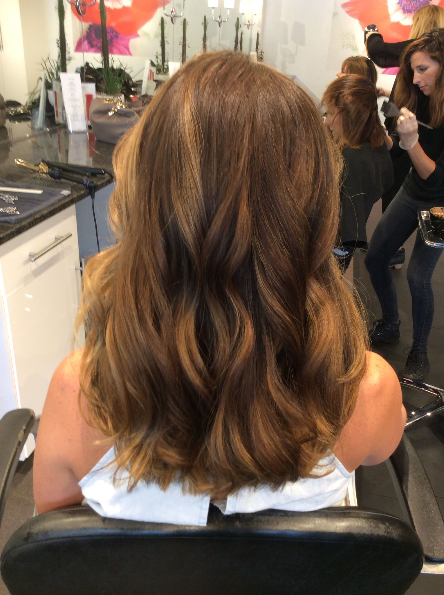 Blended Sun Kissed Balayage With Brown Root   Ombre With Regard To Short Sun Kissed Hairstyles (View 8 of 20)