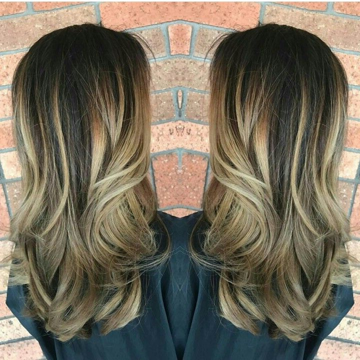 Blonde And Caramel Balayage | Long Hair Styles, Caramel Regarding Caramel Blonde Balayage On Inverted Lob Hairstyles (View 18 of 20)
