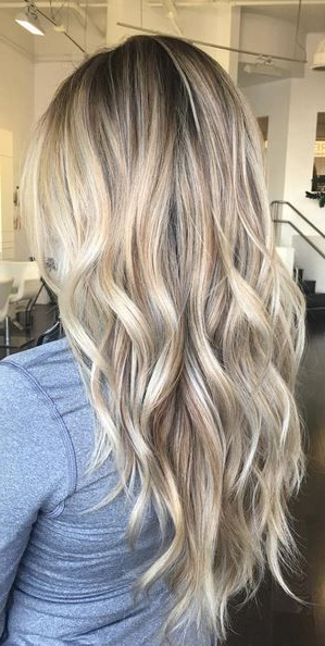 Blonde Balayage Hair Colors With Highlights |balayage Blonde For Blonde Balayage Hairstyles On Short Hair (View 11 of 20)