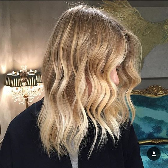 Blonde Balayage Hair Colors With Highlights  balayage Blonde In Natural Looking Dark Blonde Balayage Hairstyles (View 16 of 20)