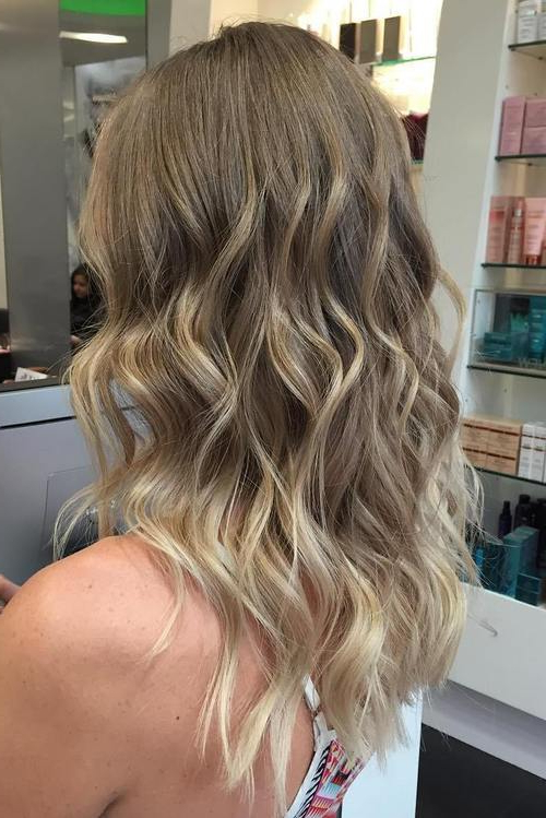 Blonde Balayage Hair Colors With Highlights |balayage Blonde With Regard To Blonde Balayage Hairstyles On Short Hair (View 4 of 20)