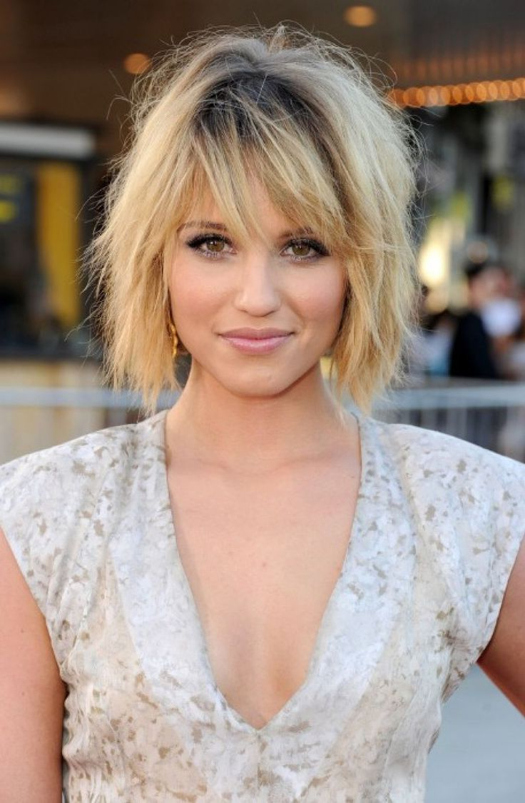 Bob Hairstyles With Bangs For Most Recently Released Short Messy Bangs Hairstyles (View 4 of 20)