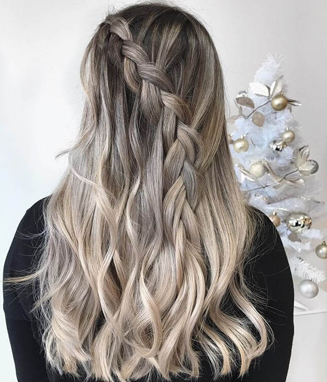 Bombshell Blonde Balayage Hairstyles In 2018 – Fashionre With Blonde Balayage Hairstyles (View 6 of 20)