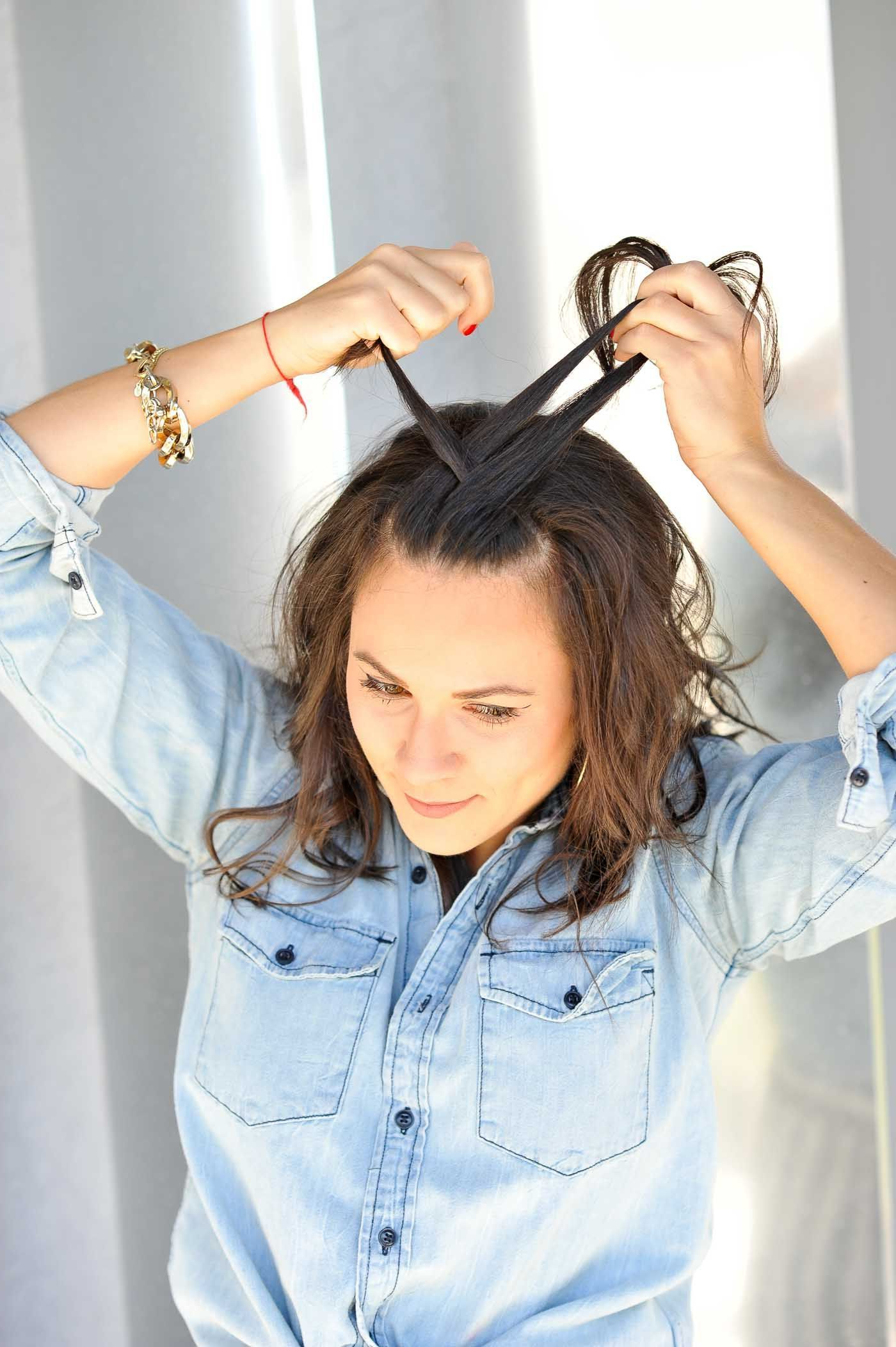 Braided Half Up Half Down Hairstyle – How To Braid Your With 2017 Half Up Half Down Hairstyles With A Fringe (View 17 of 20)
