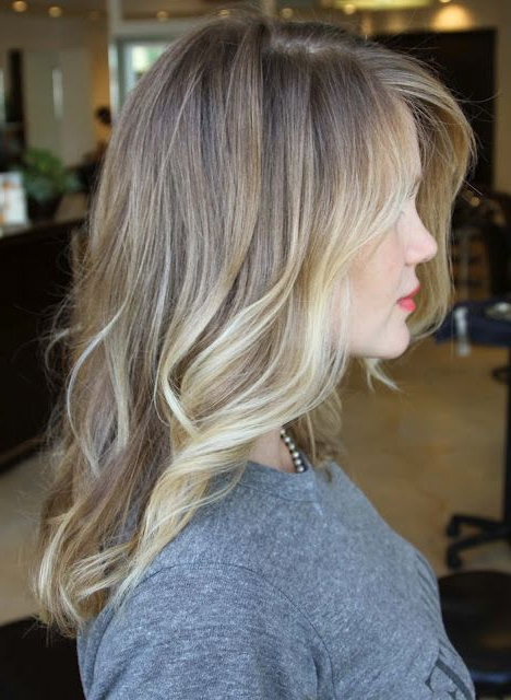 Bronde Hair With Creamy White Blonde Balayage   Hair Intended For Natural Looking Dark Blonde Balayage Hairstyles (View 18 of 20)