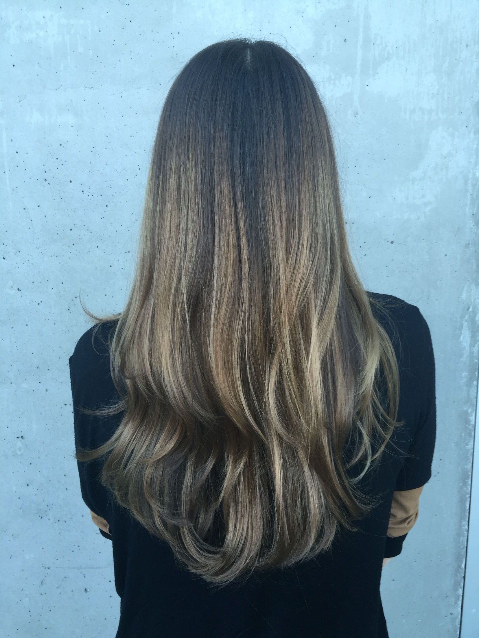 Brunette Balayage With Subtle Blonde Highlights | Subtle Throughout Subtle Balayage Highlights For Short Hairstyles (Gallery 16 of 20)