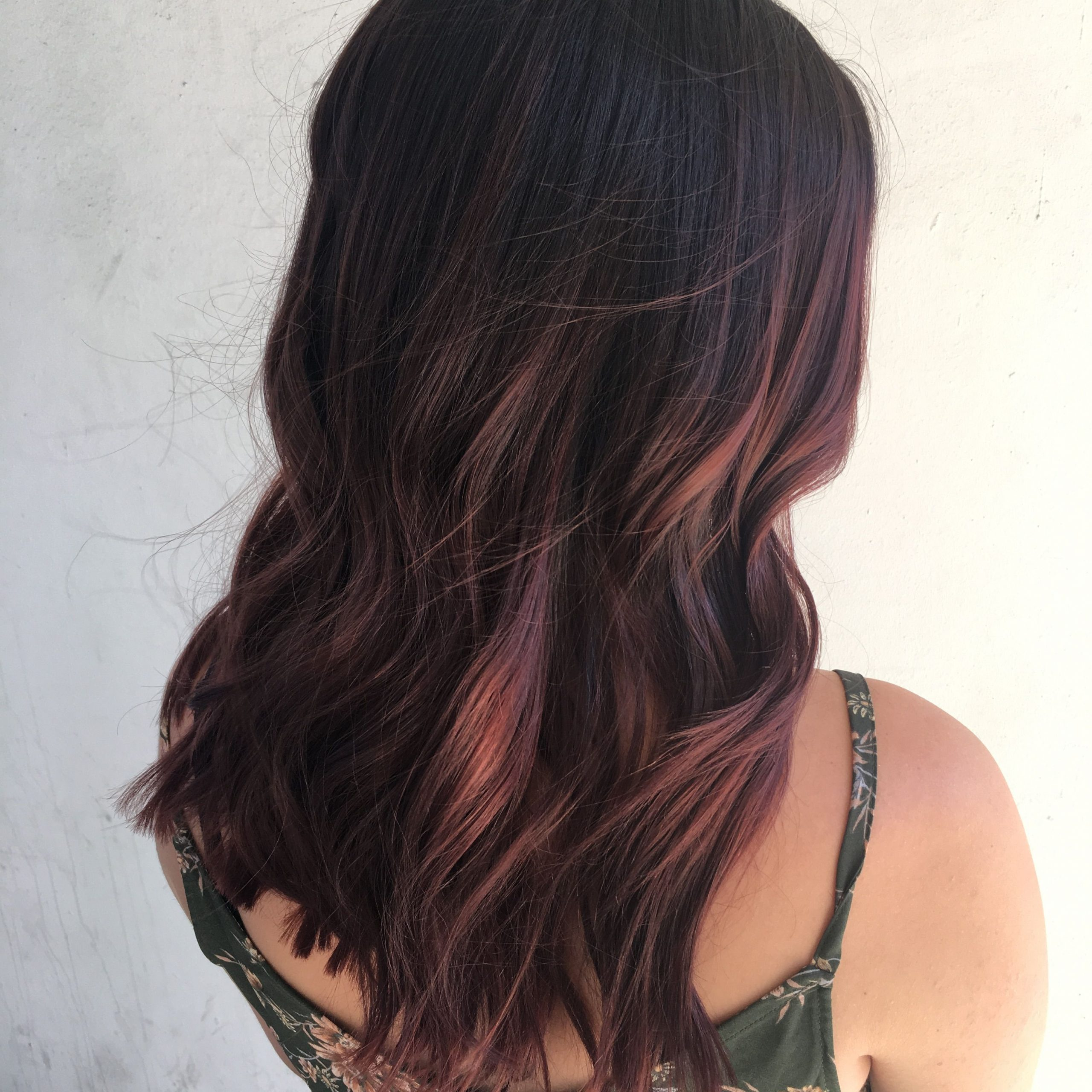 Burgundy Hair, Mahogany Hair, Red Balayage Hair, Hair With Regard To Burgundy Balayage On Dark Hairstyles (View 4 of 20)