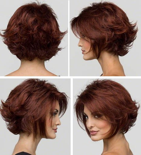 Cabelo, Cabelo Curto In Most Popular Choppy Layers Hairstyles With Face Framing (View 15 of 20)