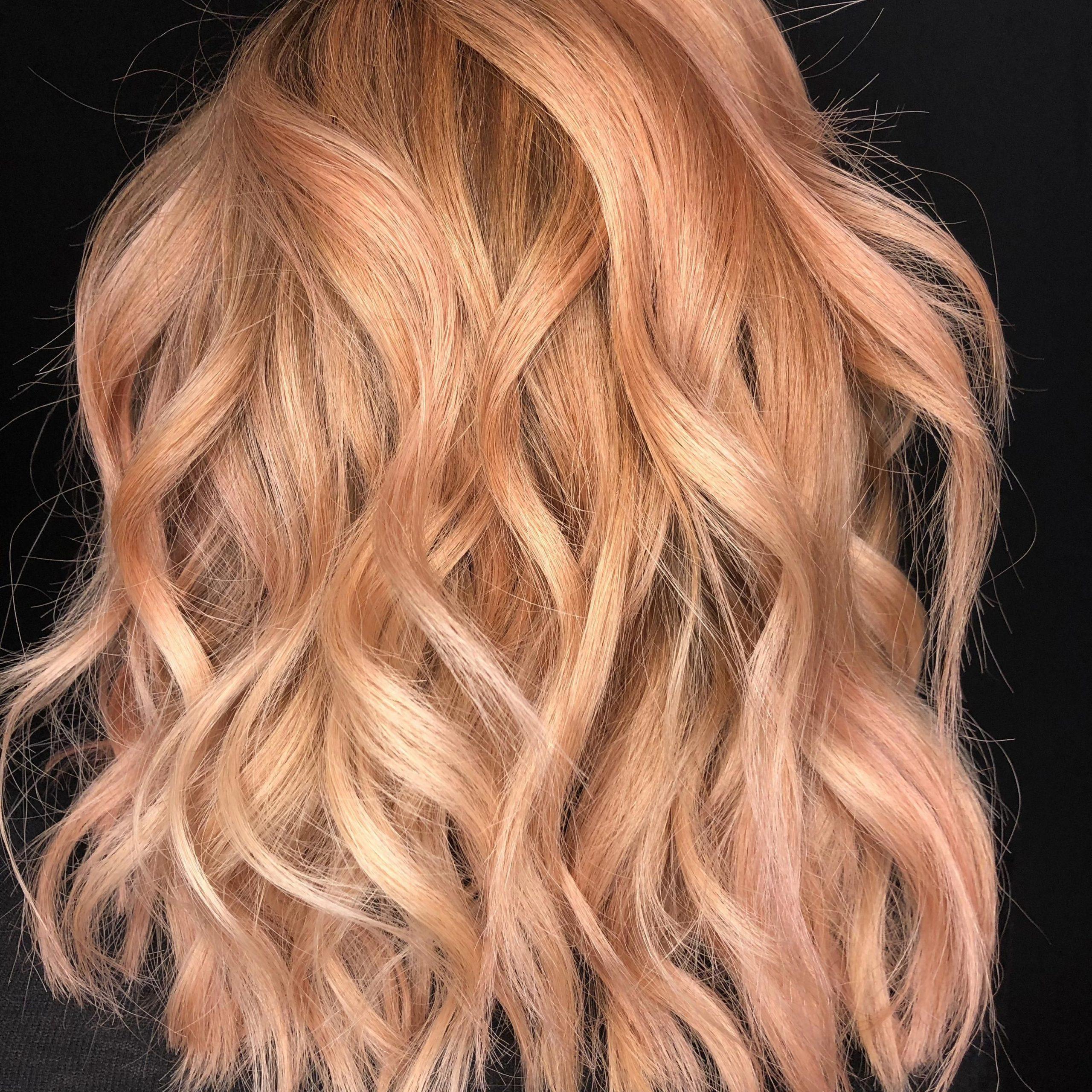 Caramel Blonde Balayage Hair Looks (View 5 of 20)