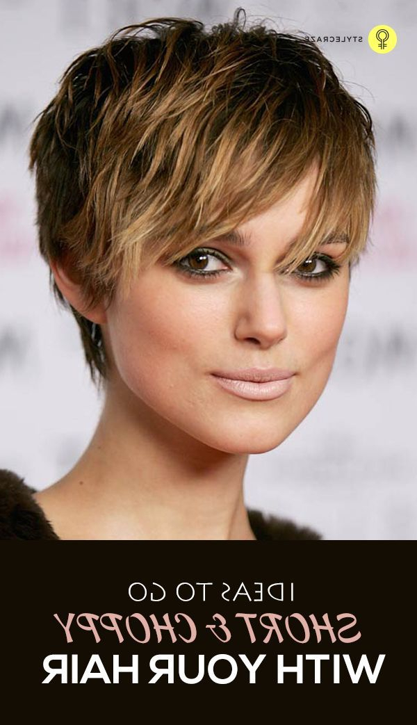 Choppy Hair Pertaining To Favorite Short And Choppy Graduated Pixie Haircuts (View 12 of 20)