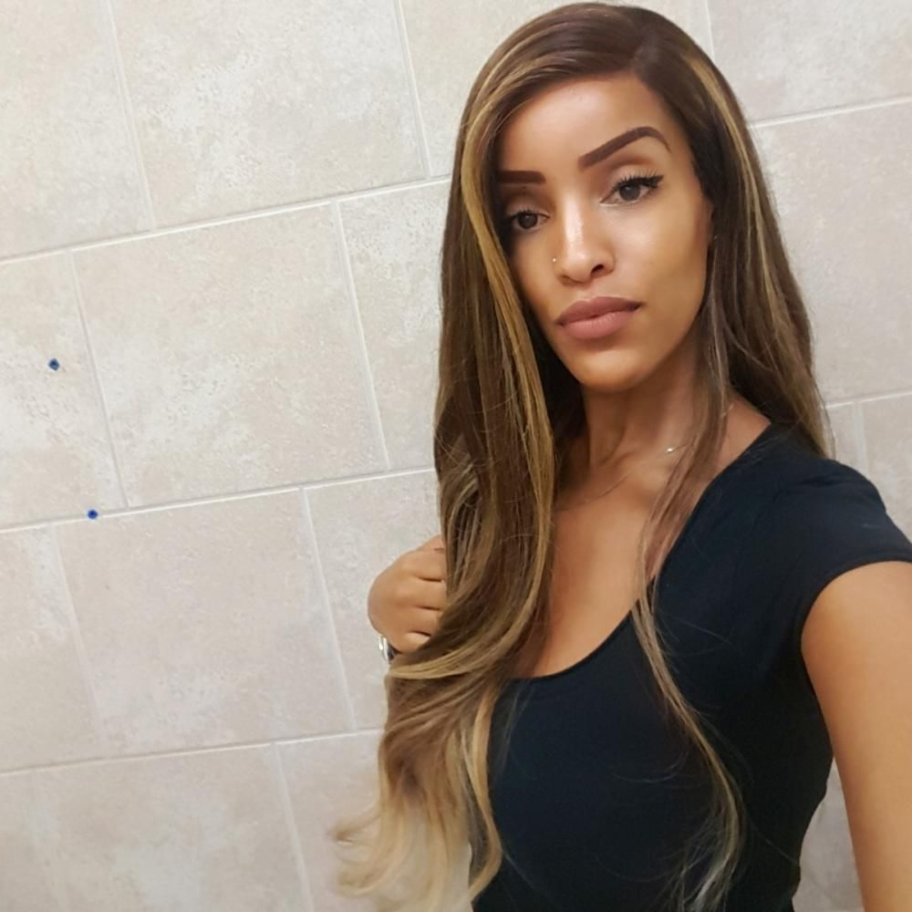 """""""cici"""" Ombre Balayage Wig Beach Waves   Ombre Balayage Pertaining To Beachy Waves Hairstyles With Balayage Ombre (View 10 of 20)"""