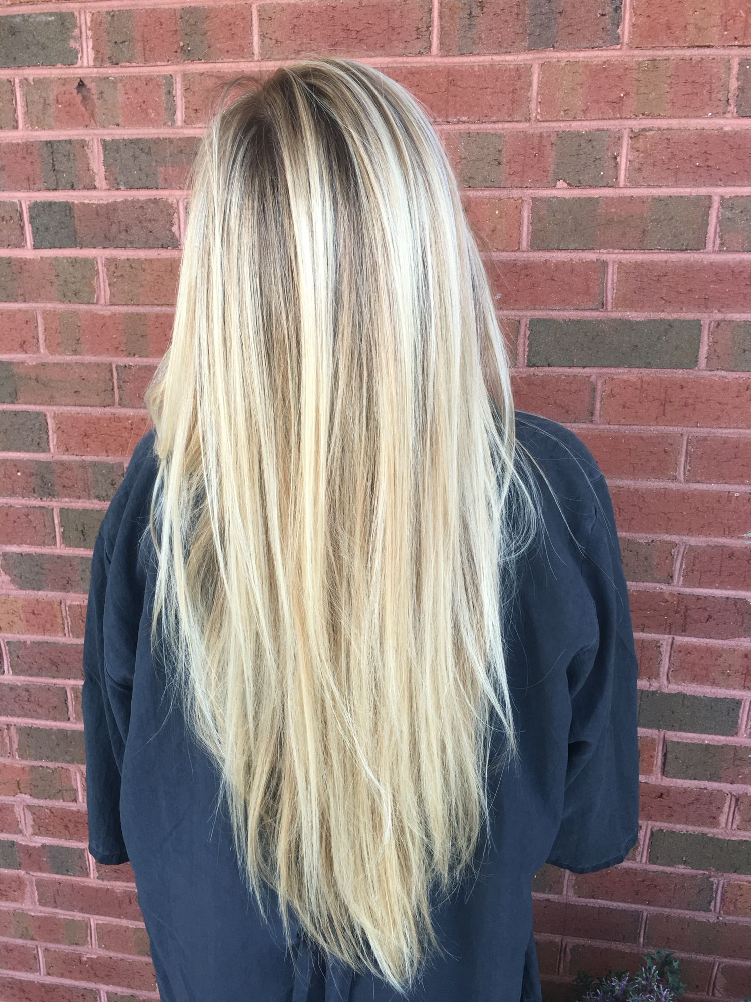 Cool Tone Blonde Balayage With Natural Lowlight   Hair For Long Pixie Hairstyles With Dramatic Blonde Balayage (View 13 of 20)