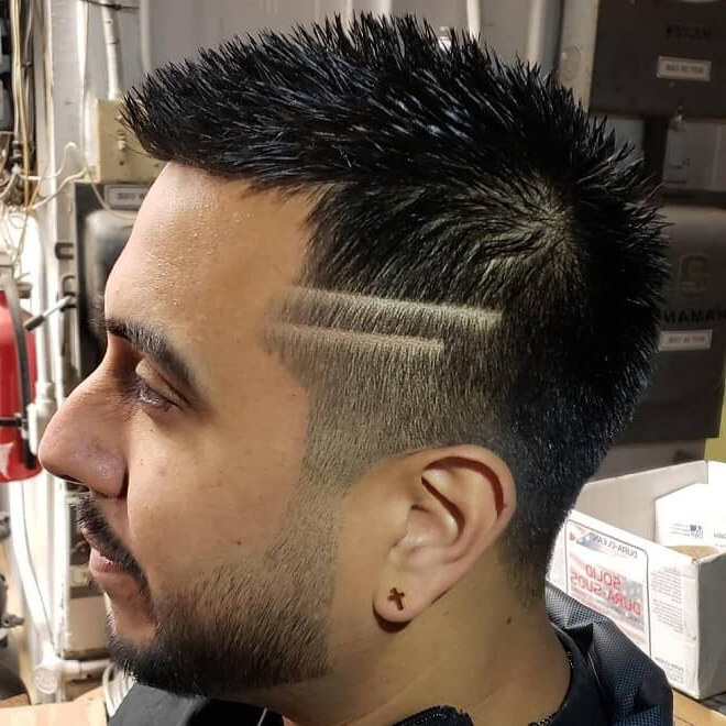 Current Gray Faux Hawk Hairstyles With 30 Best Faux Hawk Haircuts For Men (View 5 of 20)