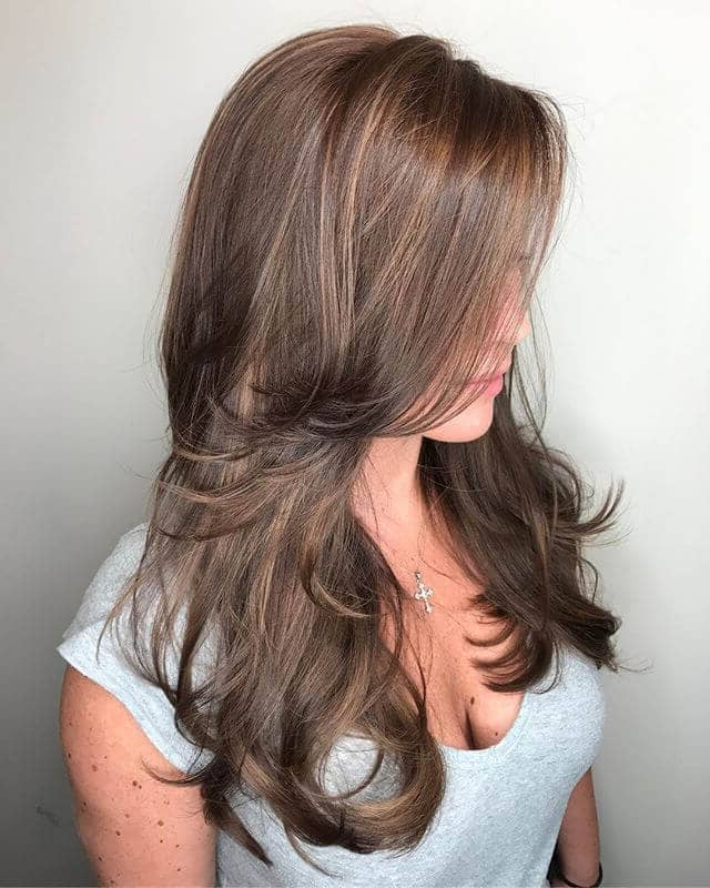 Current Long Layers And Face Framing Bangs Hairstyles Throughout 50 Sexy Long Layered Hair Ideas To Create Effortless Style (View 18 of 20)