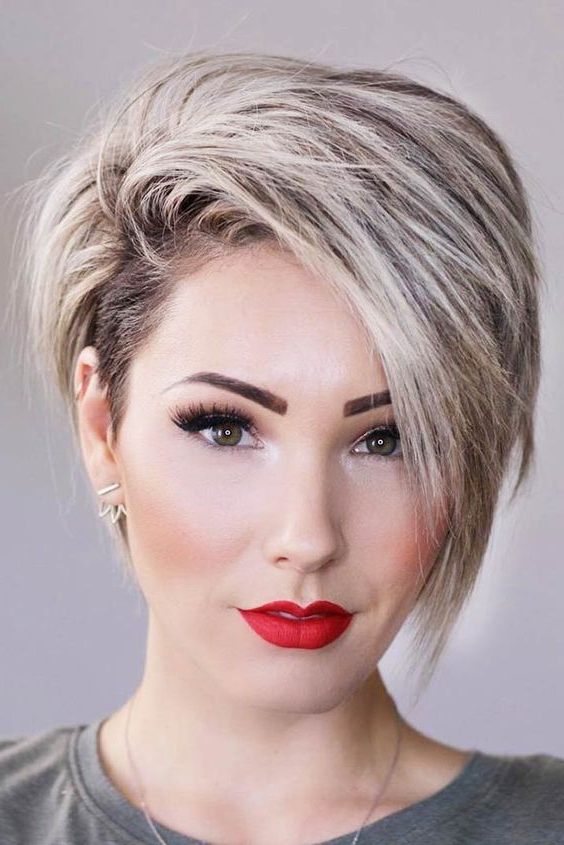 Current Long Pixie Hairstyles With Skin Fade With 15 Long Pixie Haircuts That Are In Trend – Styleoholic (View 14 of 20)