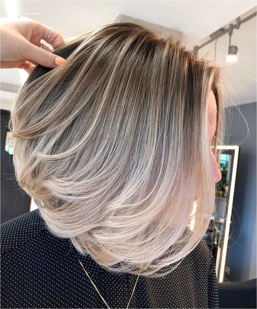 Current Side Swept Face Framing Layers Hairstyles Regarding 50 Short Layered Bob Haircuts With Side Swept Bangs That (Gallery 16 of 20)