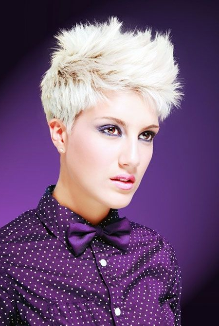 Current Sleek Coif Hairstyles With Double Sided Undercut Within Pin On Short Pixie Haircuts (View 17 of 20)