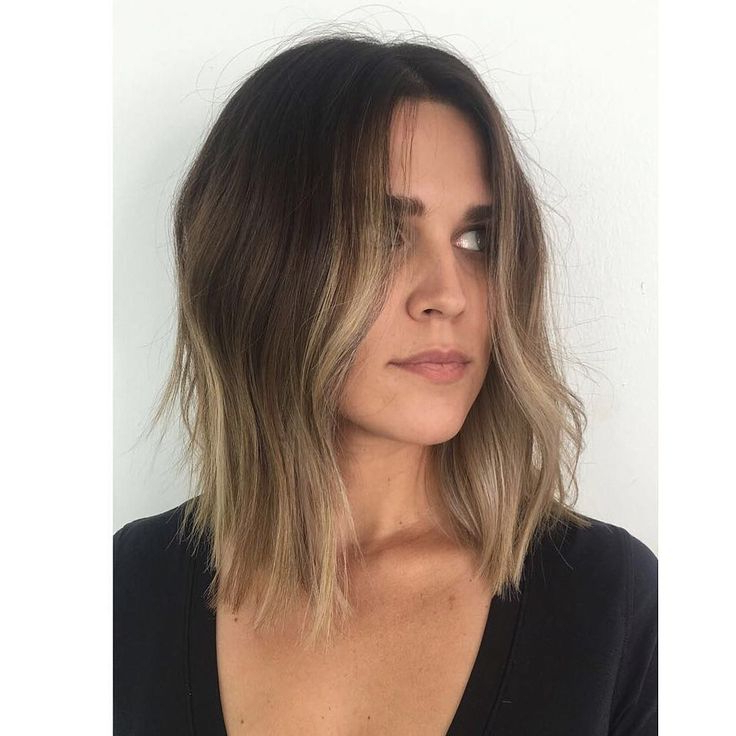 Curtained Subtle Layered Lob With Just A Bend Texture And Throughout Current Subtle Face Framing Layers Hairstyles (View 4 of 20)
