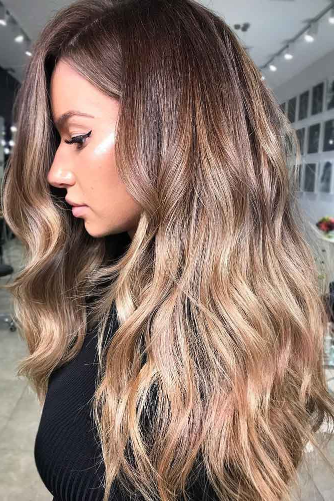 Dark Blonde Hair | Hera Hair Beauty With Ash Blonde Balayage Ombre On Dark Hairstyles (View 15 of 20)