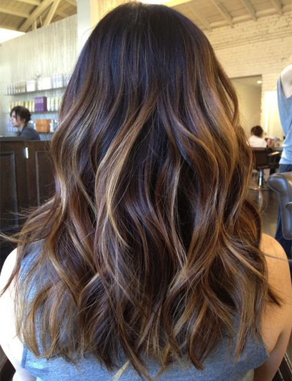 Dark Brown Ombre Balayage Hairstyle 2015 Summer – Capellistyle In Short Bob Hairstyles With Balayage Ombre (View 6 of 20)