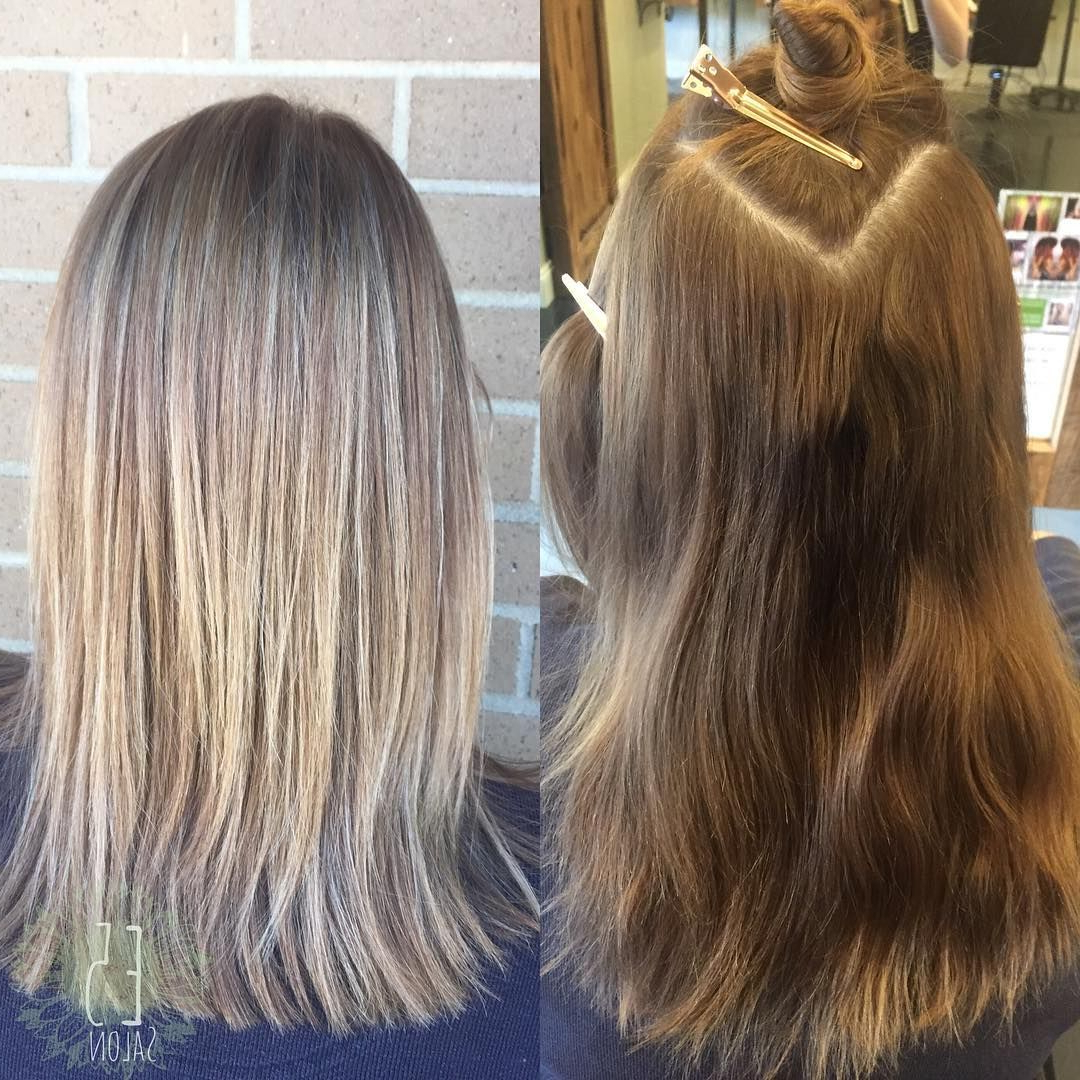 Dimensional Blonde Highlights Long Layers | Dimensional Intended For Layered Dimensional Hairstyles (View 5 of 20)