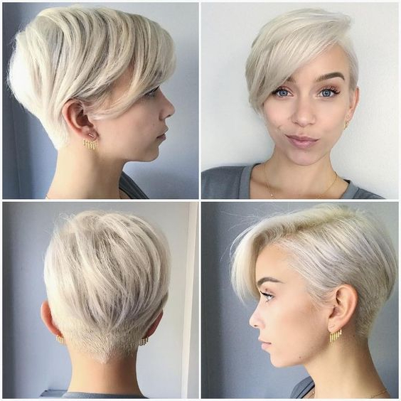 Disconnected Undercut 3 – Short Hairstyles 2019 For Most Current Disconnected Pixie Hairstyles (View 15 of 20)