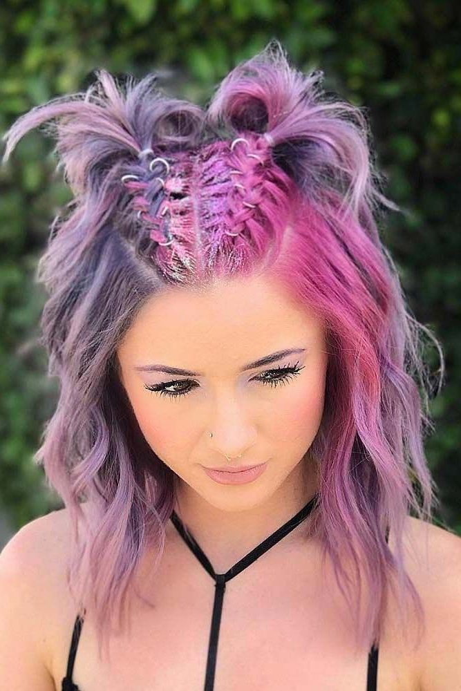 Easy Summer Hairstyles To Do Yourself ★ See More: Http Inside Well Liked Rave Buns Hairstyles (View 2 of 20)