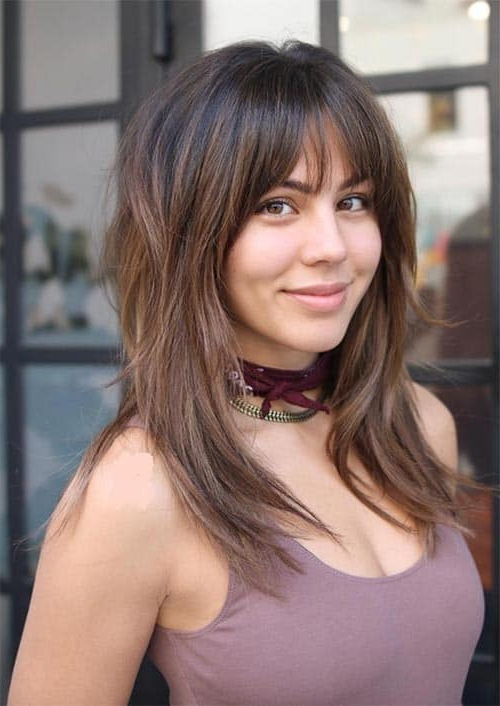 Face Framing Hairstyles : 35 Trendy Hair Cuts Layers For Favorite A Shape Framed Haircuts (View 2 of 20)