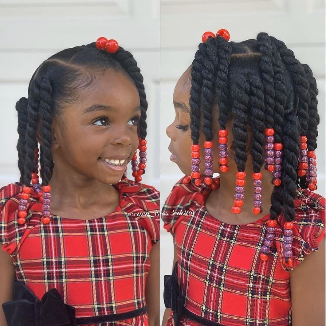 """Famous Baby Ponytails Hairstyles With #kidshairstyles #kidsbraids On Instagram: """"featured @black (View 3 of 20)"""