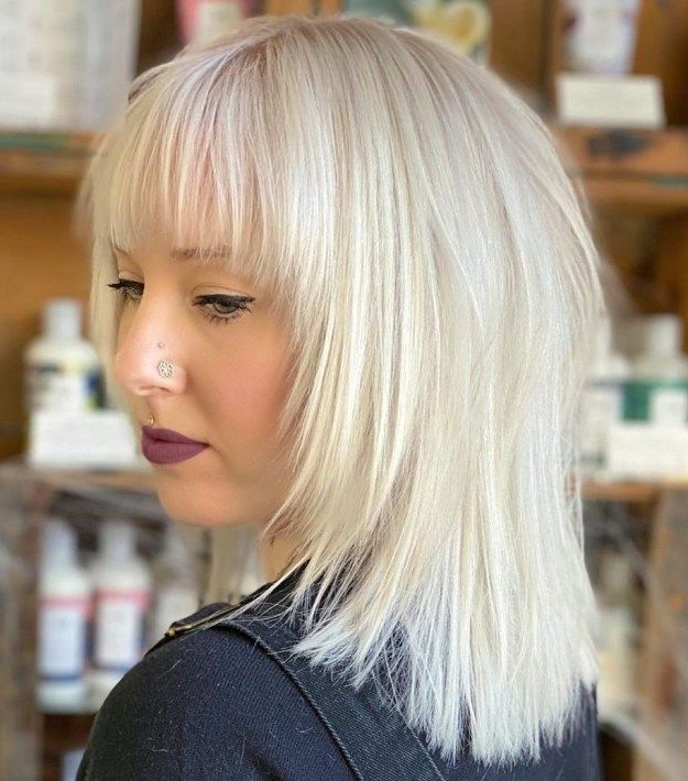 Famous Long Layers And Face Framing Bangs Hairstyles Pertaining To Shag With Graded Face Framing Layers (View 6 of 20)