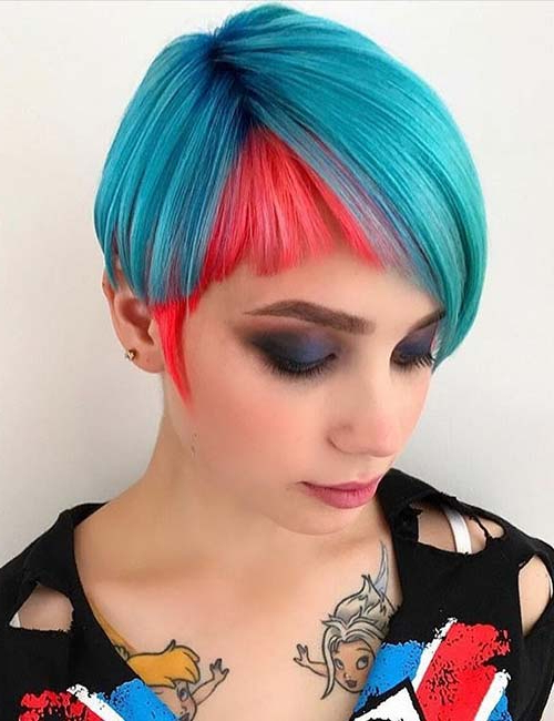 Fashionable Edgy Undercut Pixie Hairstyles With Side Fringe For 20 Hairstyles With Side Swept Bangs That Will Sweep You (View 12 of 20)