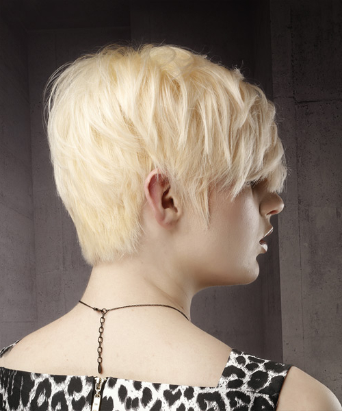 Fashionable Platinum Blonde Pixie Hairstyles With Long Bangs Pertaining To Pixie Hairstyles And Haircuts In  (View 8 of 20)