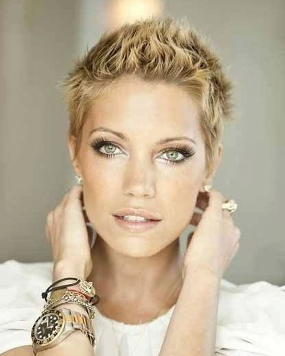 Fashionable Tousled Pixie Hairstyles With Super Short Undercut For Super Very Short Pixie Haircuts & Hair Colors For  (View 12 of 20)