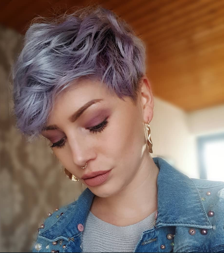 Fashionable Undercut Pixie Hairstyles With Hair Tattoo Inside 70+ Best Short Pixie Haircut And Color Design For Cool (View 6 of 20)