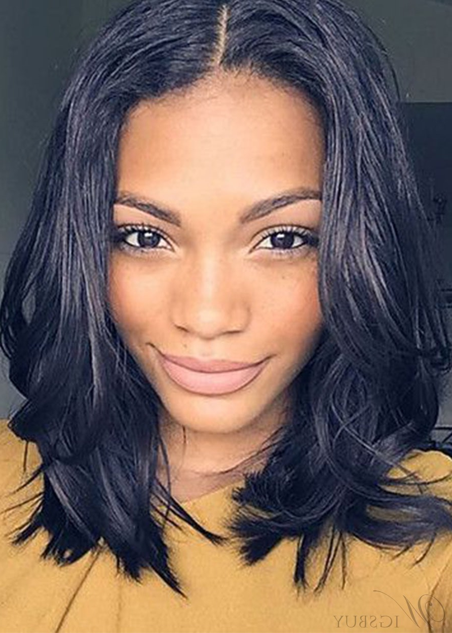 Featured Photo of Middle Part Hairstyles