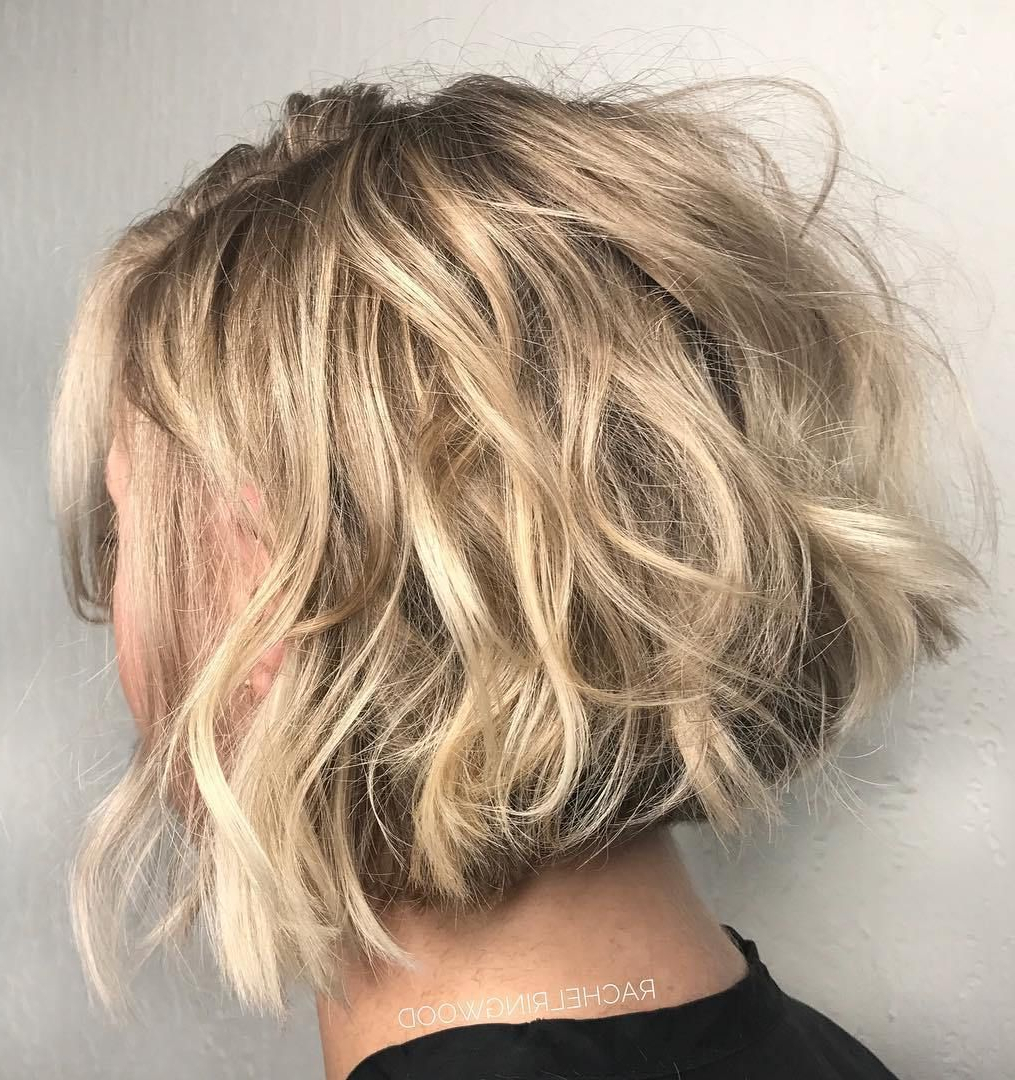 Favorite Short Messy Bangs Hairstyles With 60 Messy Bob Hairstyles For Your Trendy Casual Looks In (View 18 of 20)