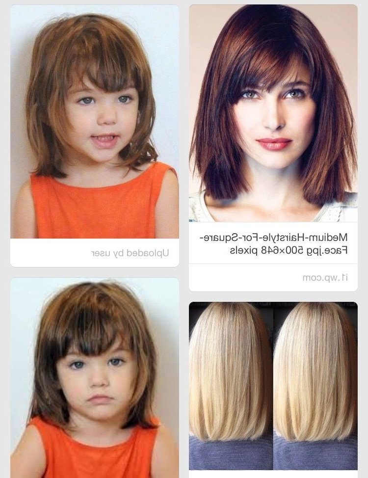 Fringe Bangs And Face Framing Layers (View 17 of 20)