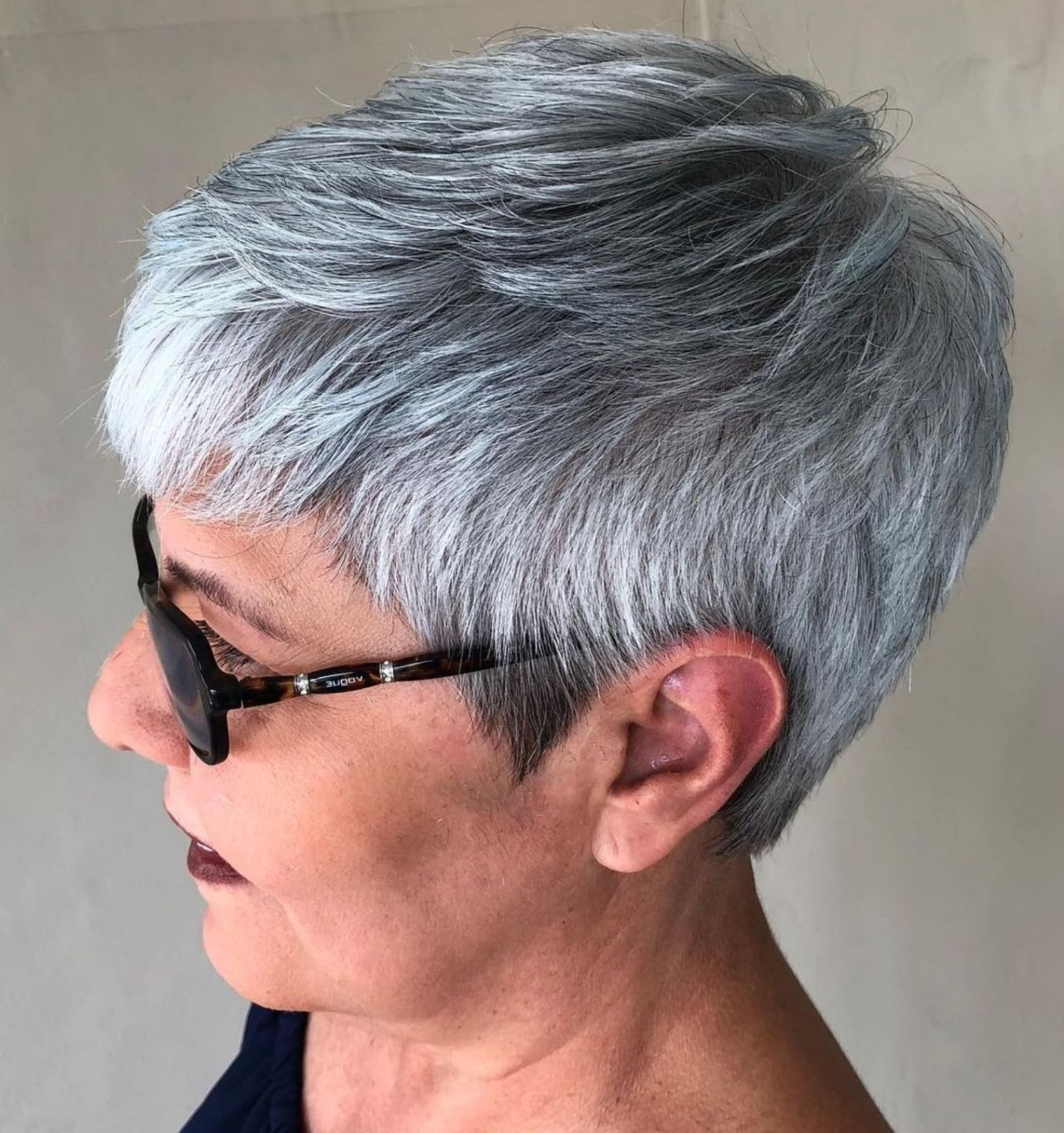 Gorgeous Gray Hair, Short Grey (View 5 of 20)