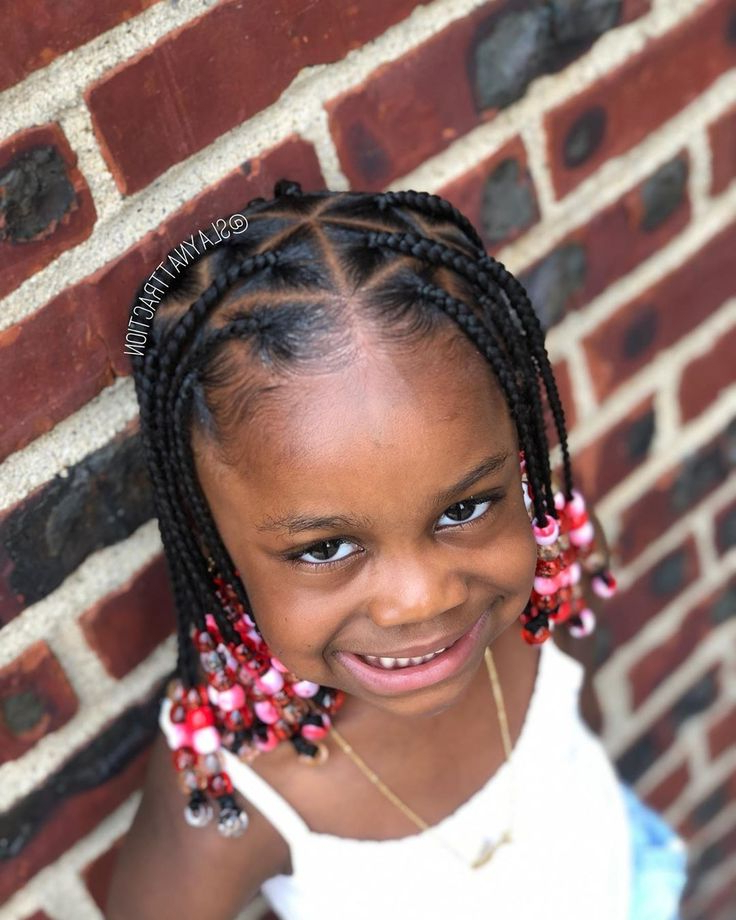 Grand Collection Of Braids With Beads For Little Girls In Famous Pins And Beads Hairstyles (View 5 of 20)