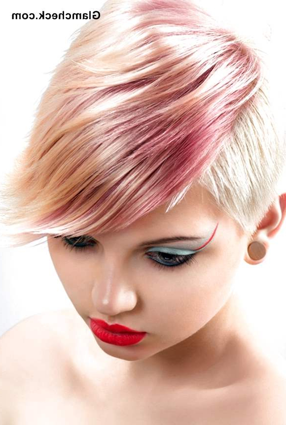 Hair Color Poll – Pixie Hair With Fiery Highlights Vs Regarding Favorite Pastel Pixie Hairstyles With Undercut (View 11 of 20)