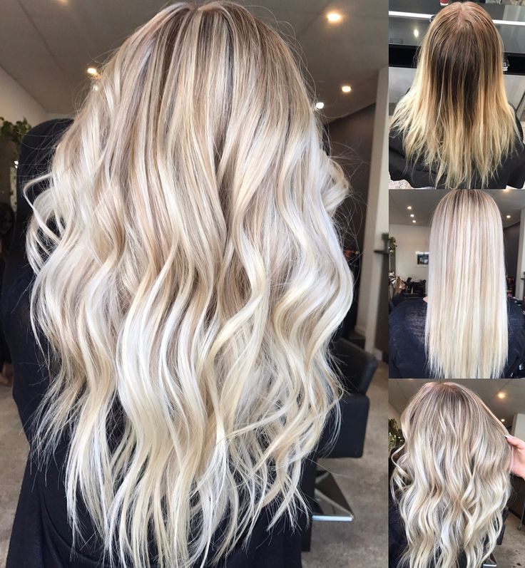 Hair Inspiration ️ Instagram @hairbykaitlinjade Blonde Intended For Long Pixie Hairstyles With Dramatic Blonde Balayage (View 7 of 20)